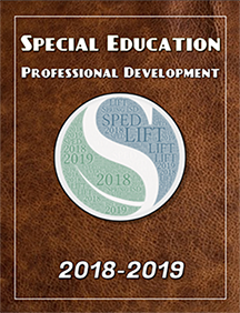 SPED PD Binder